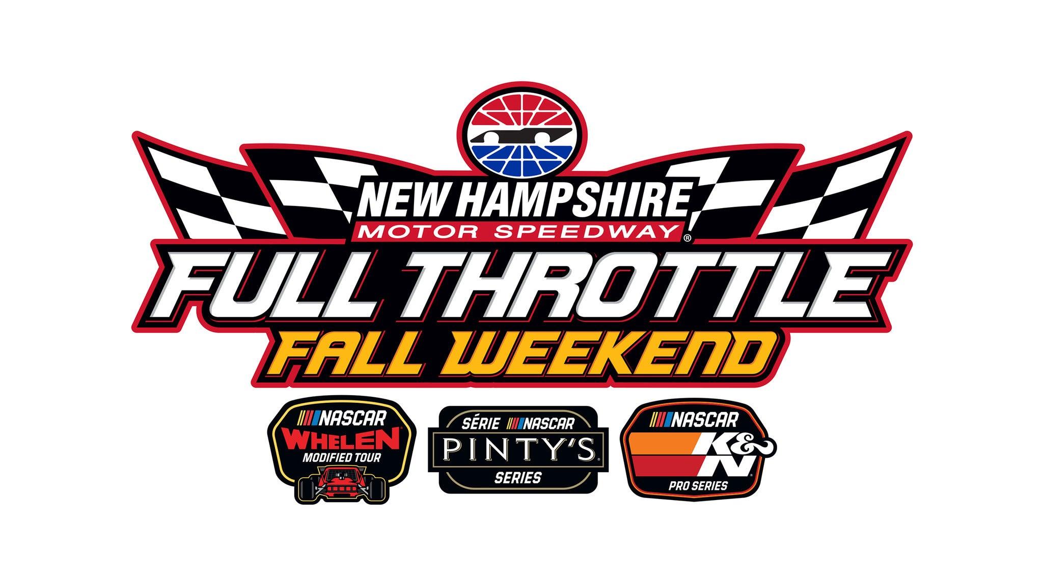 Full Throttle Fall Weekend - Friday Qualifying