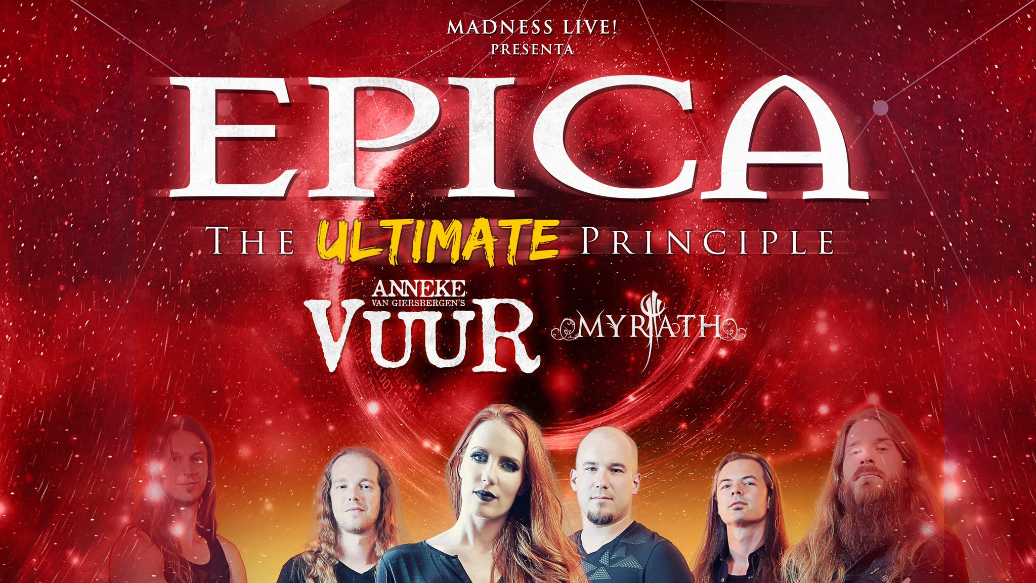 EPICA with LACUNA COIL Plus Guests at The Masquerade
