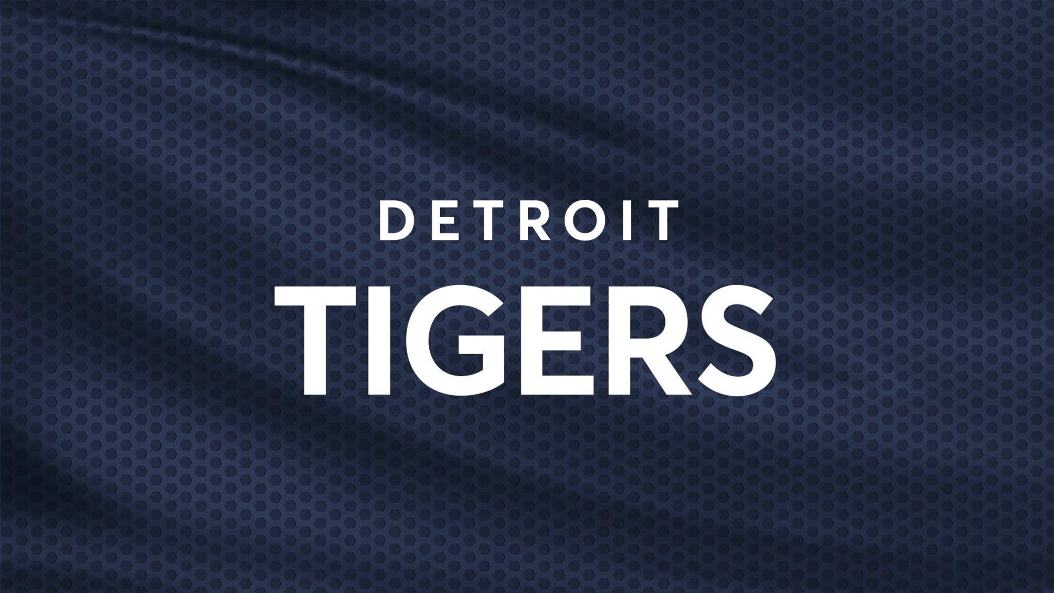 Detroit Tigers vs. Baltimore Orioles