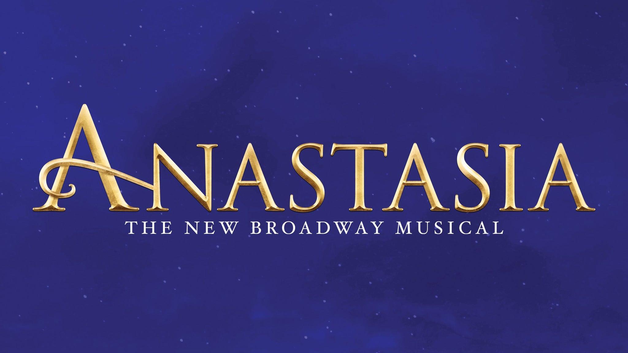 Anastasia at State Theatre-NJ
