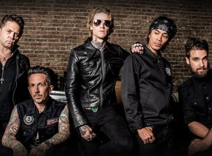 Buckcherry Warpaint Tour WSG Joyous Wolf