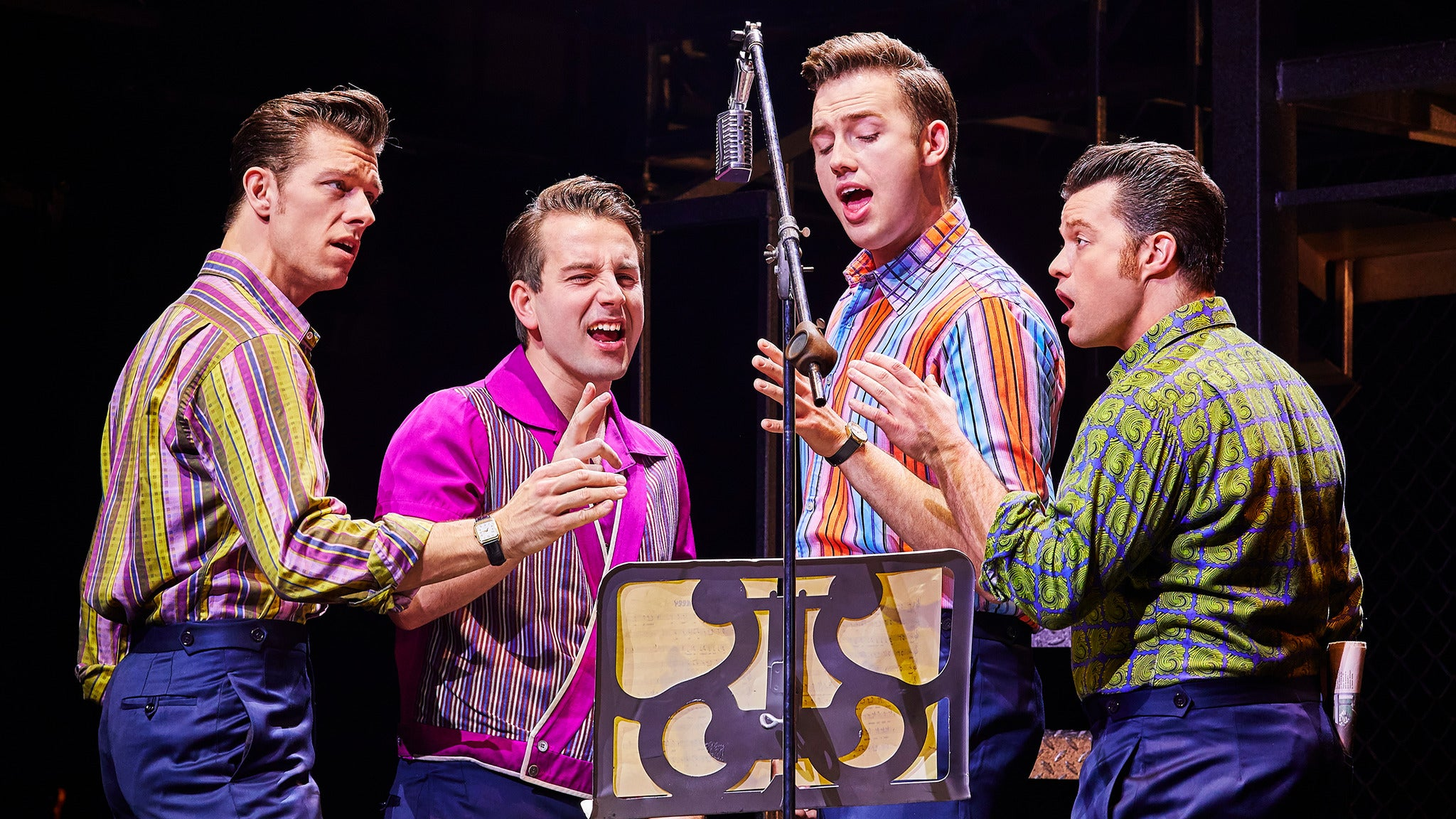 Jersey Boys (Touring) at Lyell B Clay Concert Theatre