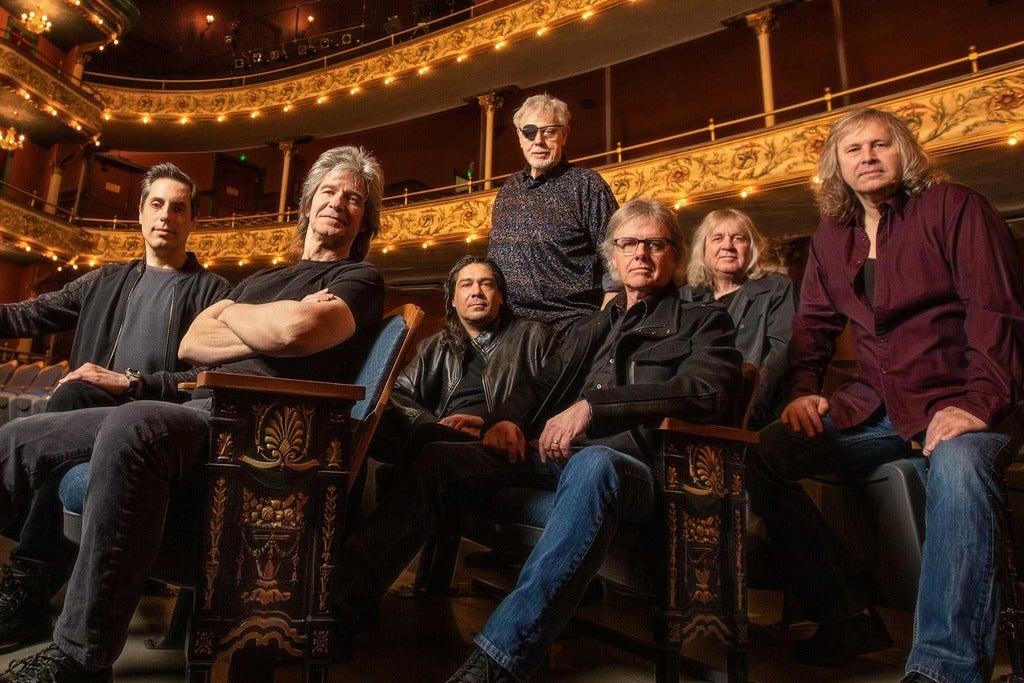 Kansas - Point of Know Return Anniversary Tour Seating Plans
