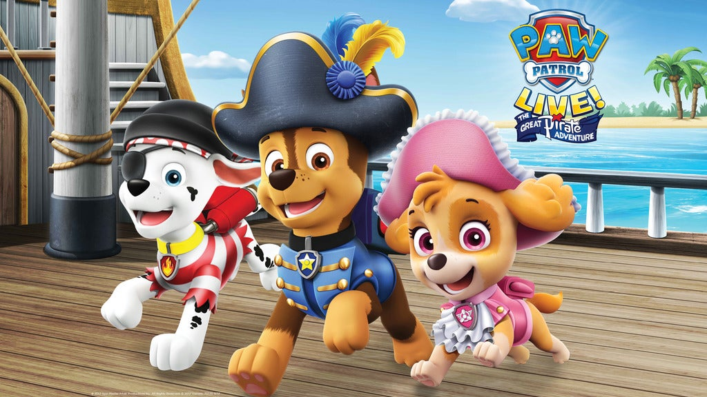 Hotels near PAW Patrol Live! The Great Pirate Adventure Events