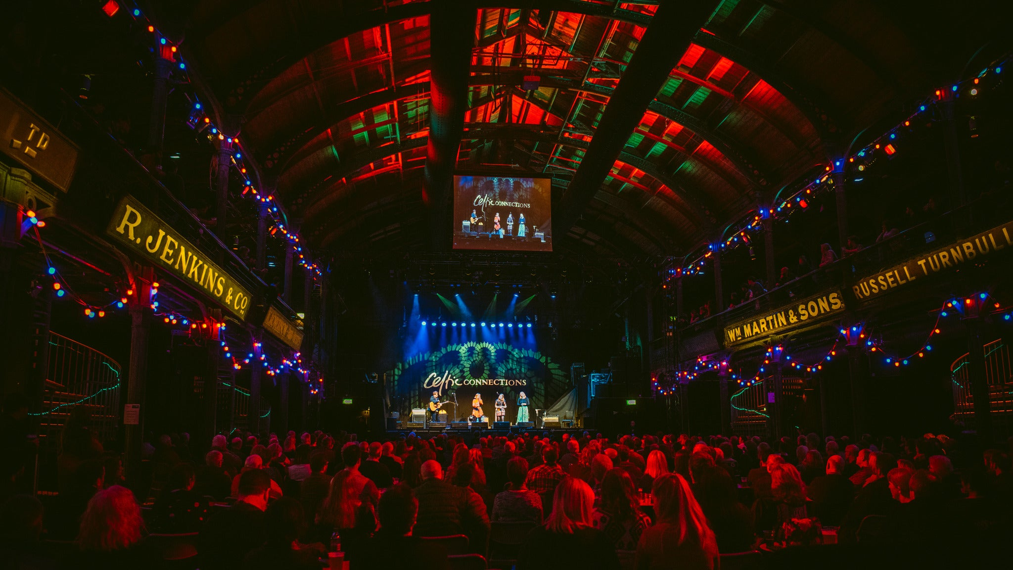 Auld Lang Syne: BBC SSO & Special Guests Seating Plans