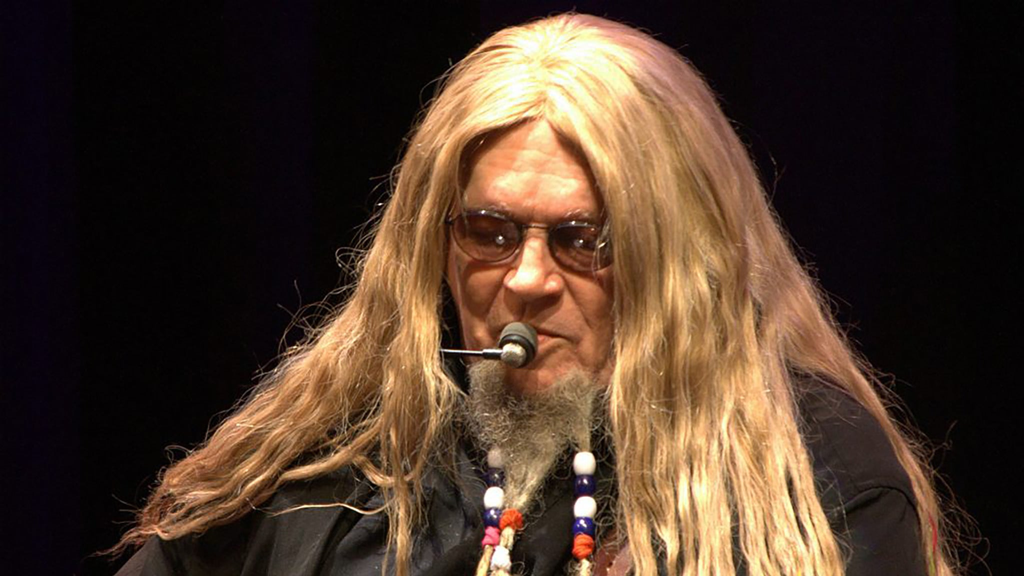 David Allan Coe at Wheeling Island Showroom