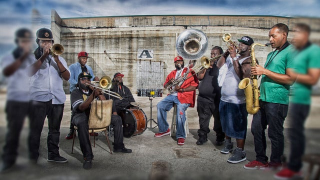 The Grammy Nominated Hot 8 Brass Band