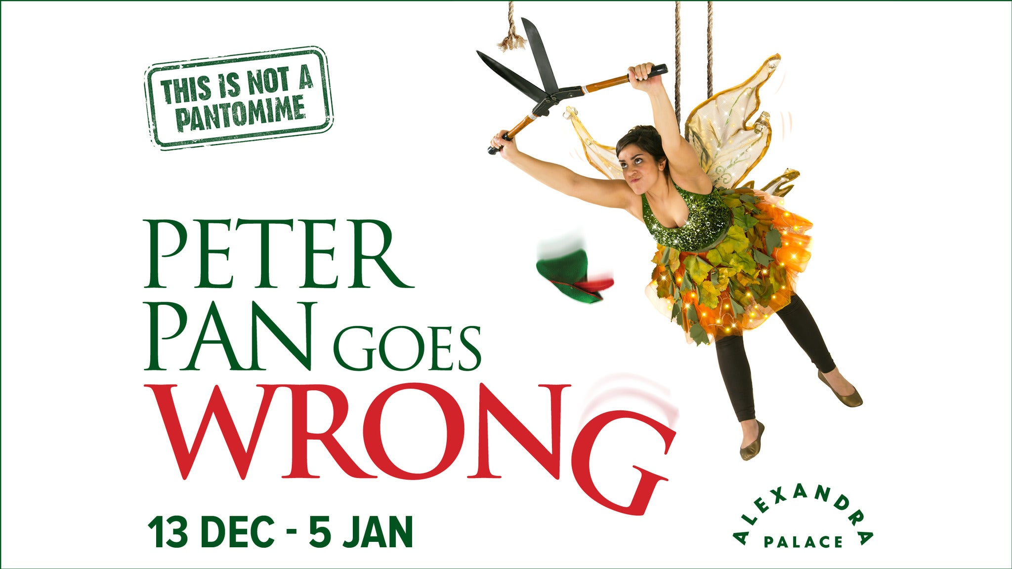 Peter Pan Goes Wrong Event Title Pic