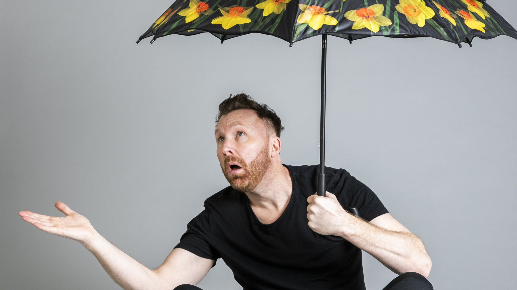 Jason Byrne - Audience Precipitation tickets (Copyright © Ticketmaster)
