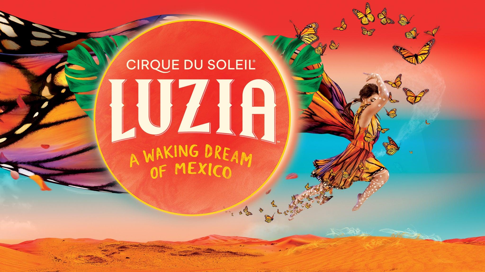 Cirque Du Soleil: Luzia Event Title Pic