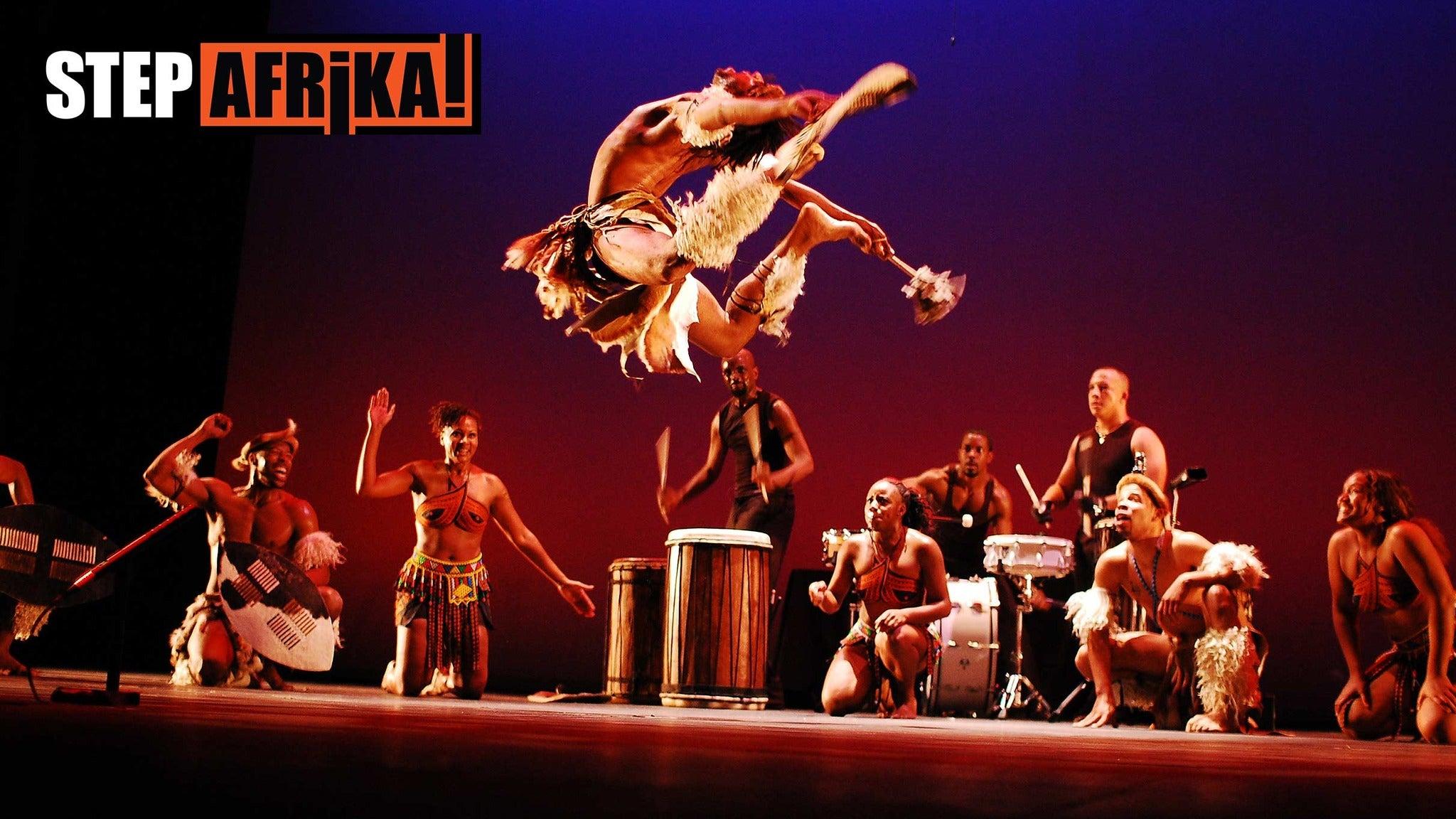 Step Afrika at Tilson Auditorium