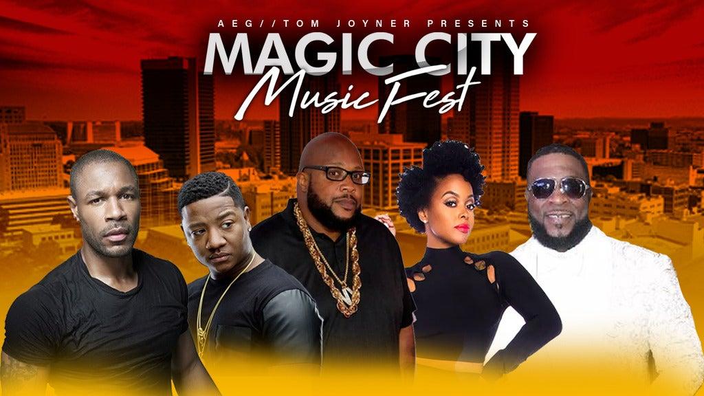 Hotels near Magic City Music Fest Events