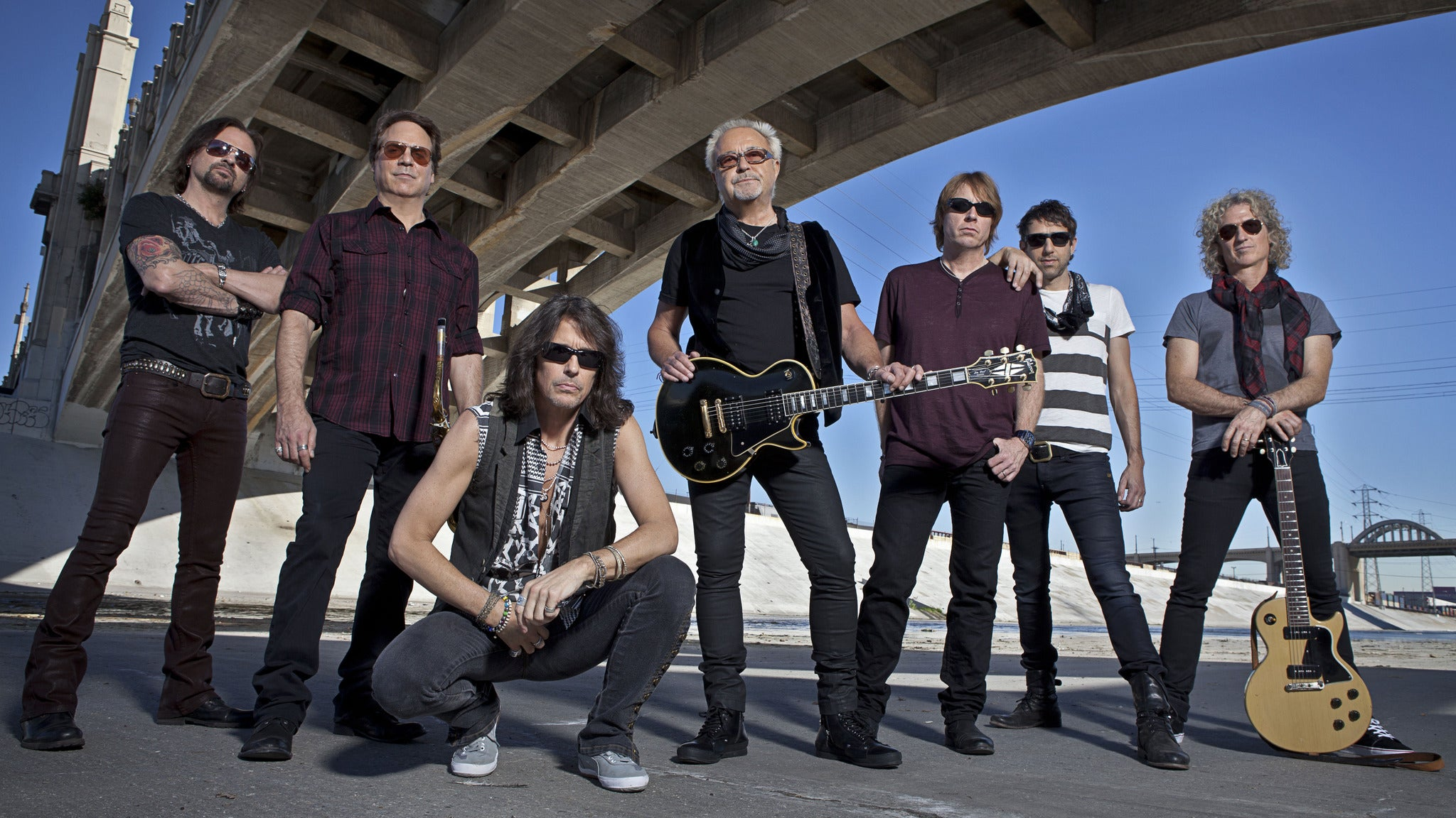 Foreigner at Lyell B Clay Concert Theatre