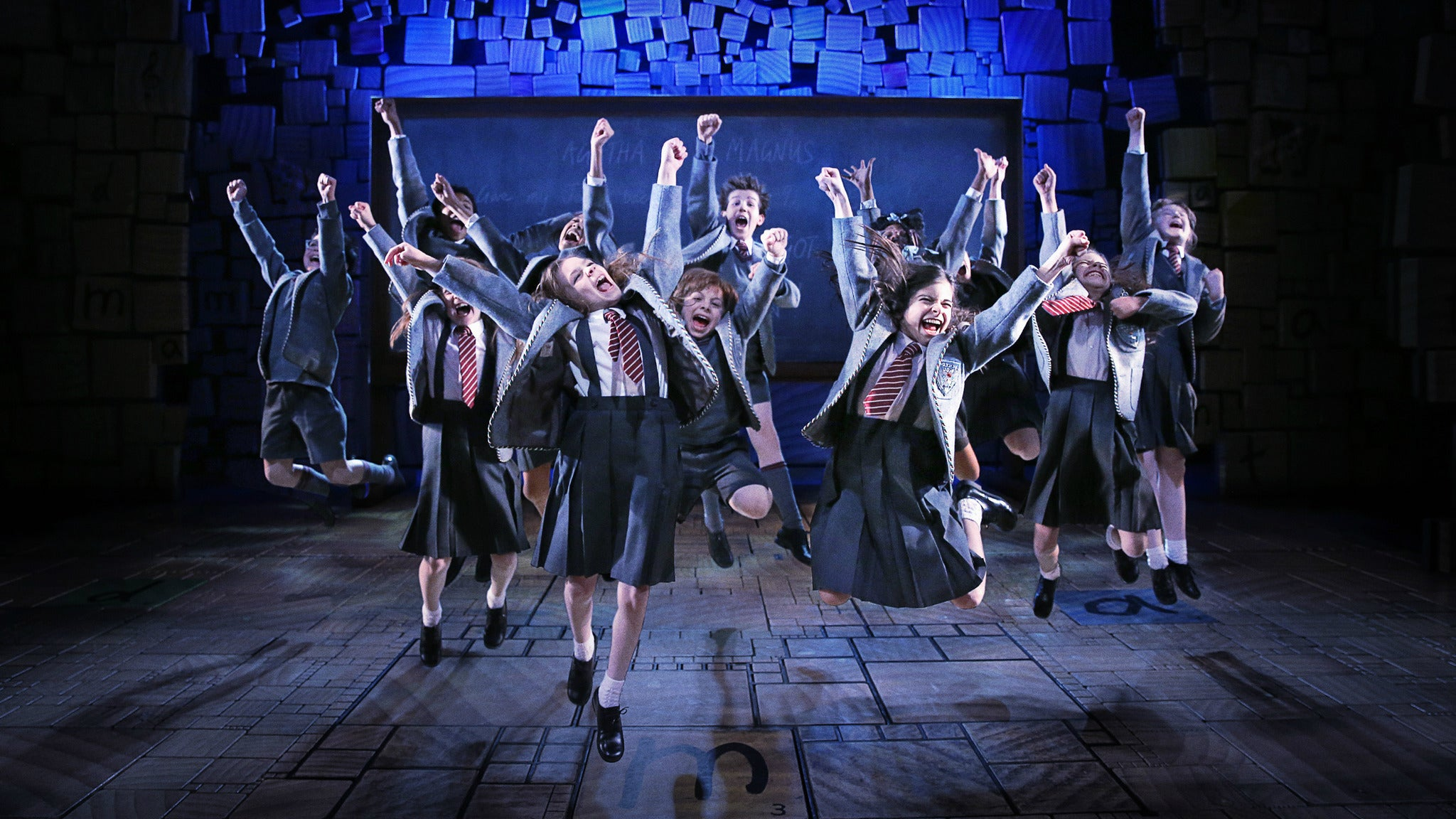 Matilda the Musical at Anderson Theater