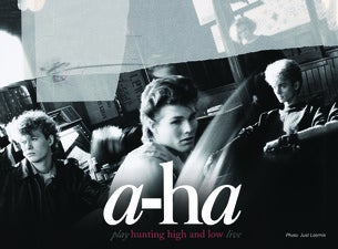 A-HA - Hunting High and Low tour - Official Platinum Tickets