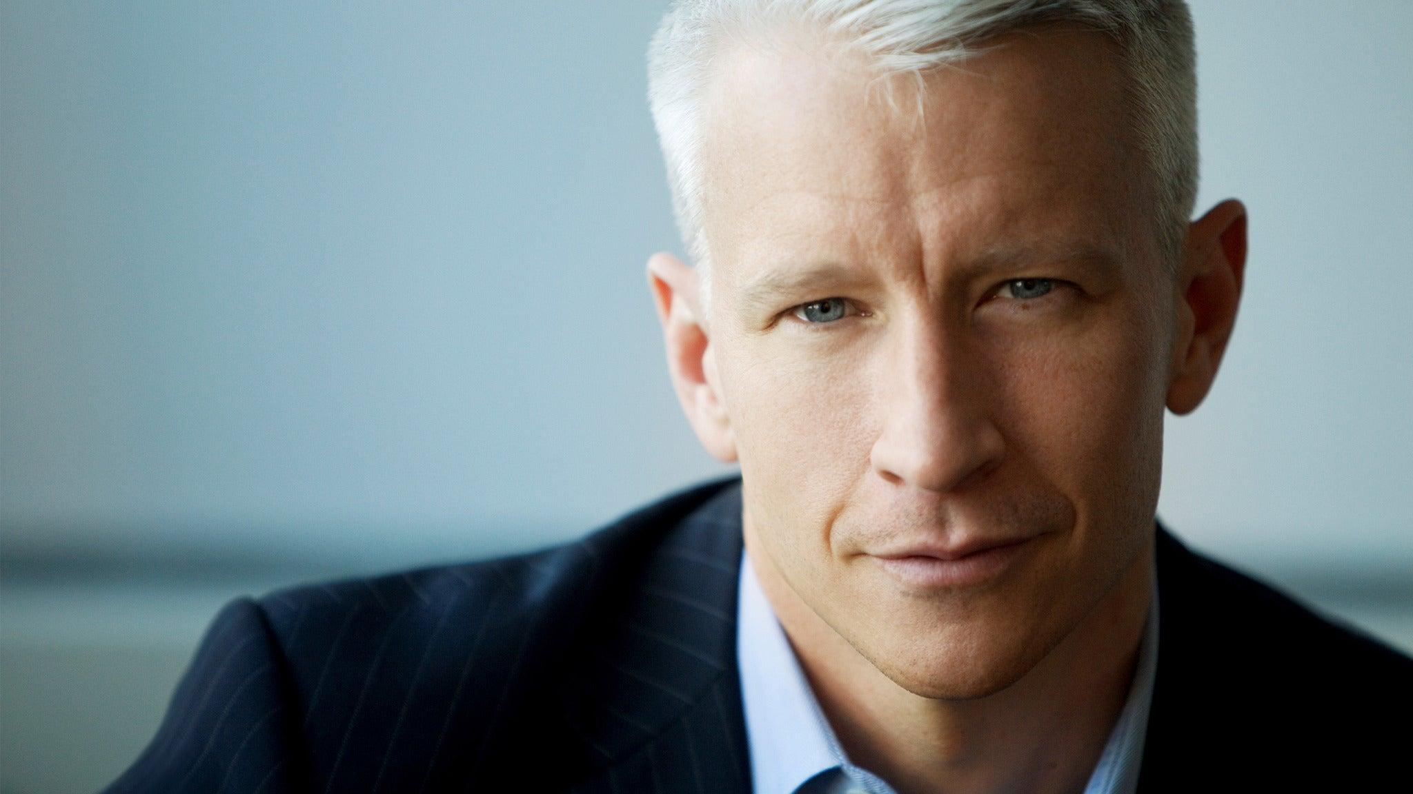 Anderson Cooper at Arlene Schnitzer Concert Hall