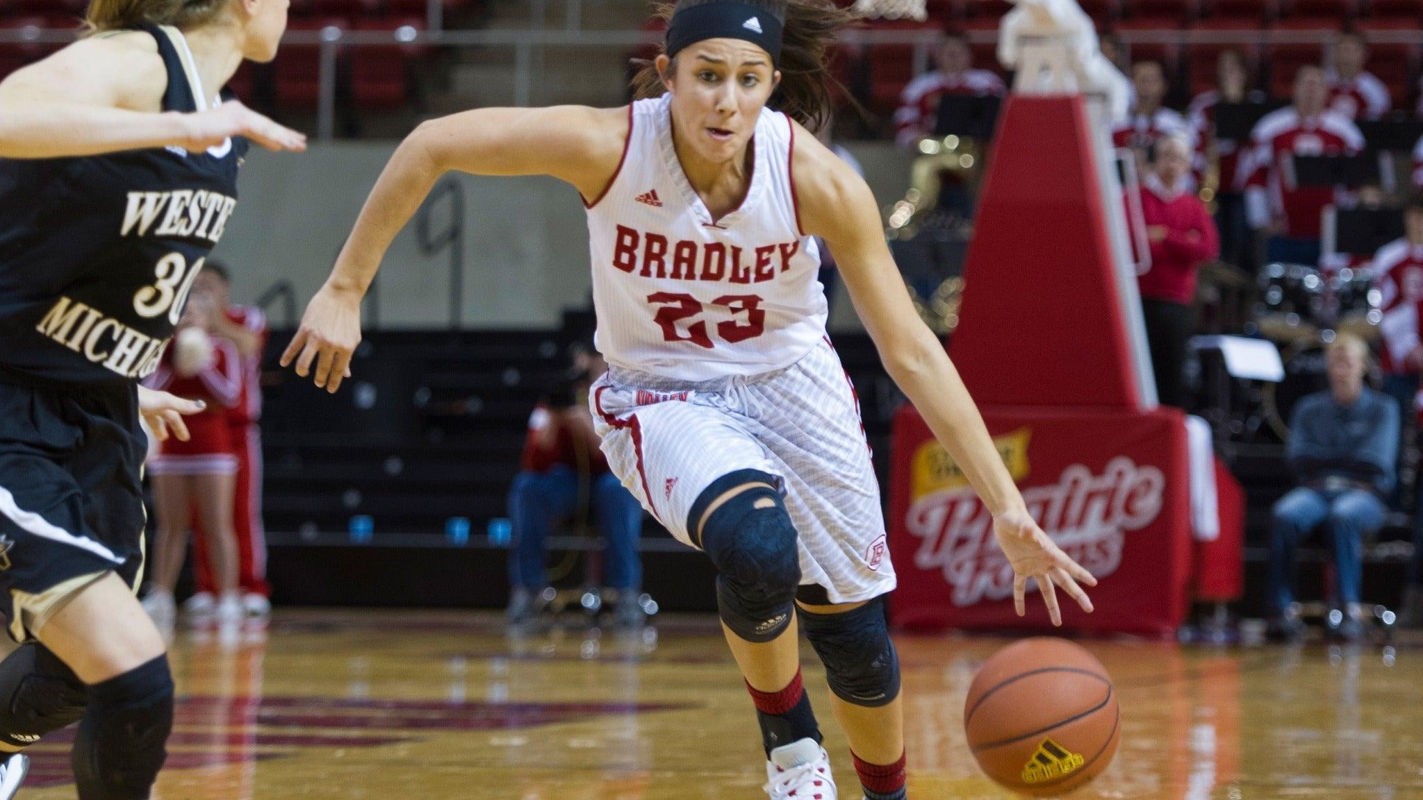 Bradley Braves Womens Basketball vs. Eureka Red Devils - Peoria , IL 61615