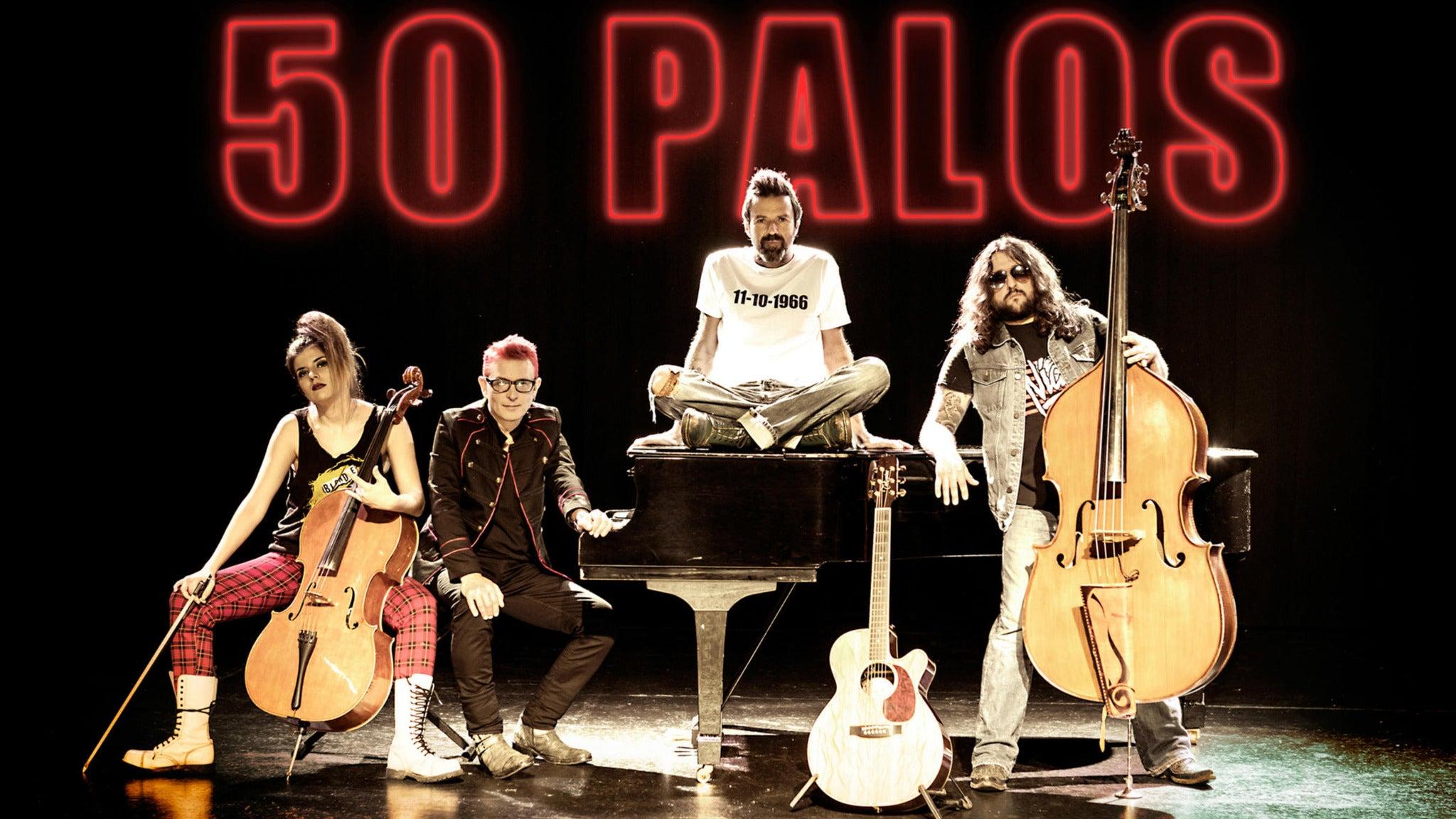 JARABE DE PALO at Joe's Live Rosemont