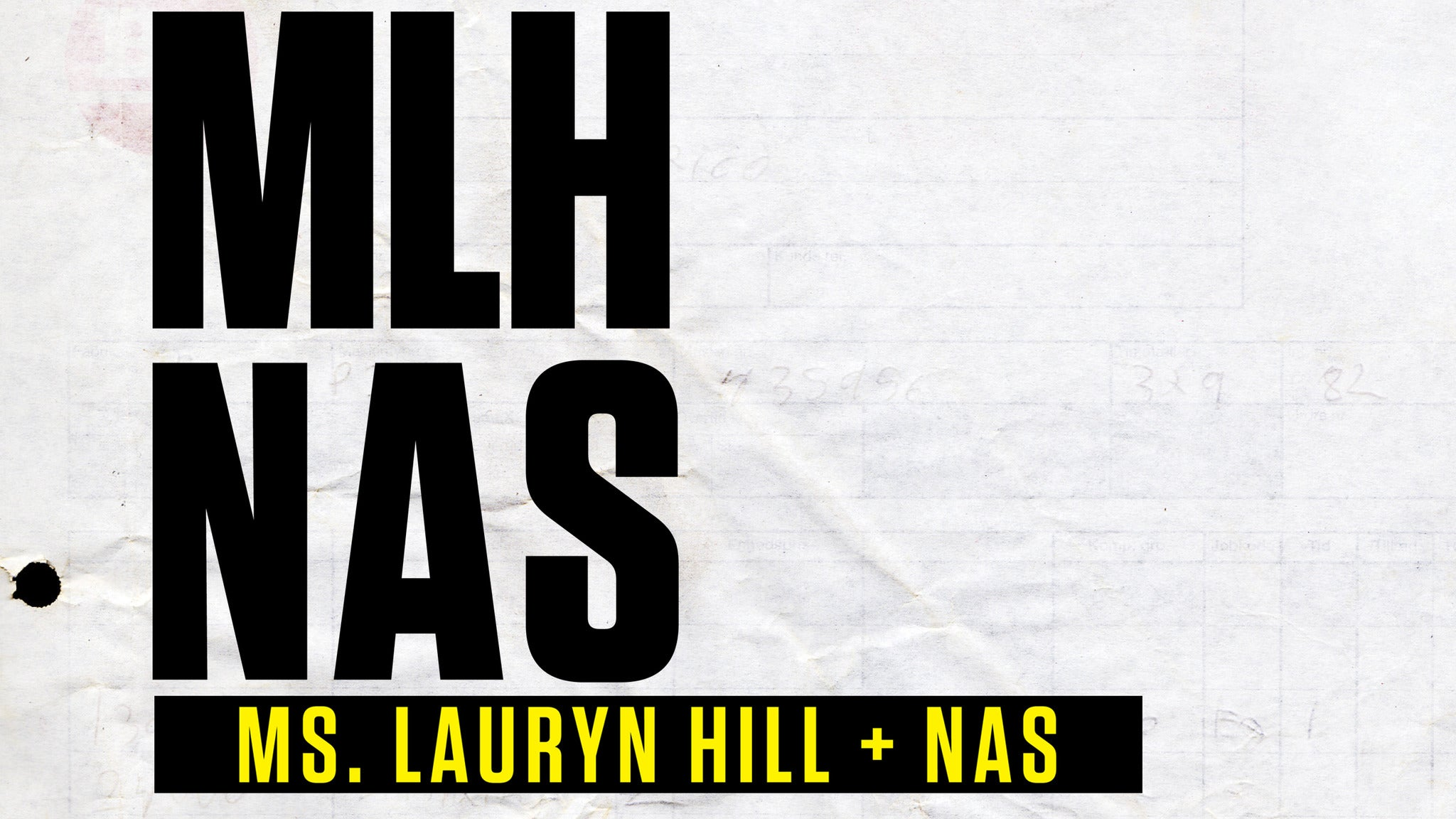 Premium Box Seats: Ms. Lauryn Hill & Nas