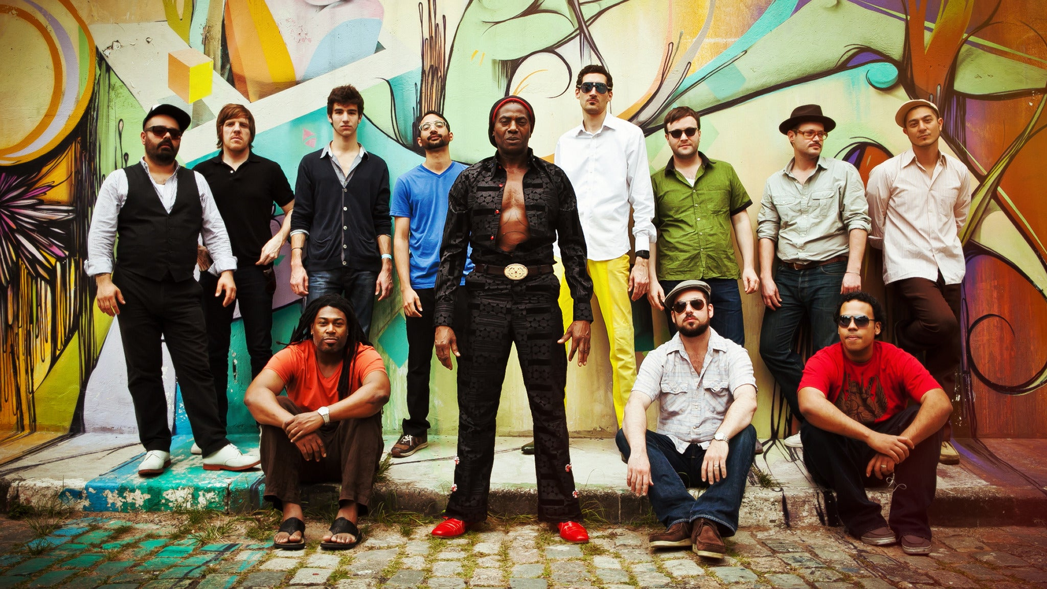 Antibalas, Here Lies Man Feat. Chico Mann at The New Parish