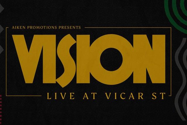 Vision Live at Vicar Street