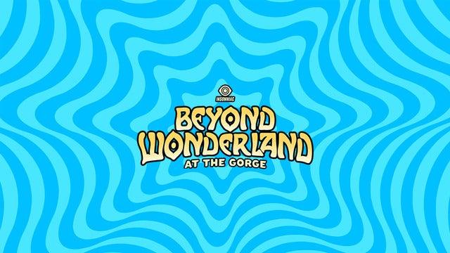 Beyond Wonderland at the Gorge