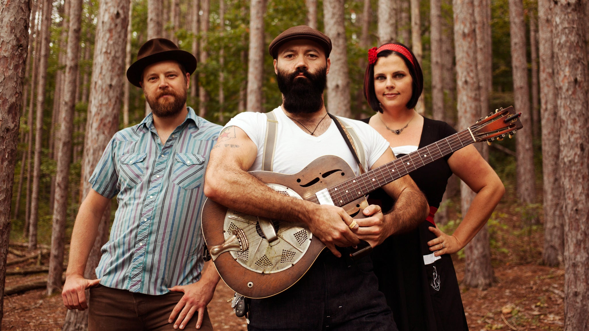 The Reverend Peyton's Big Damn Band, Matt Woods