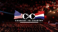 Konzert C2C Country to Country Amsterdam - Weekendticket