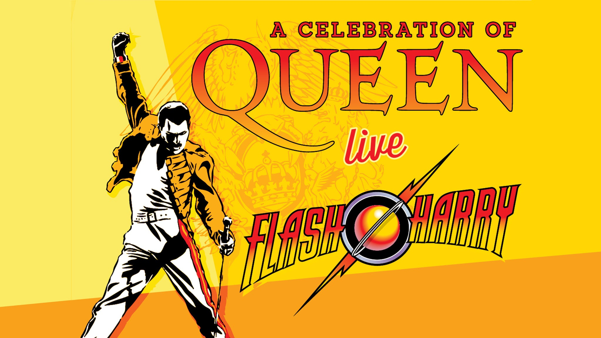 Flash Harry A Celebration of Queen