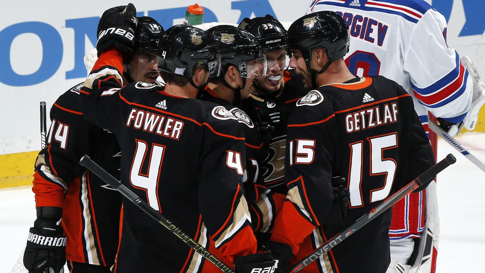 Anaheim Ducks vs. Winnipeg Jets at Honda Center