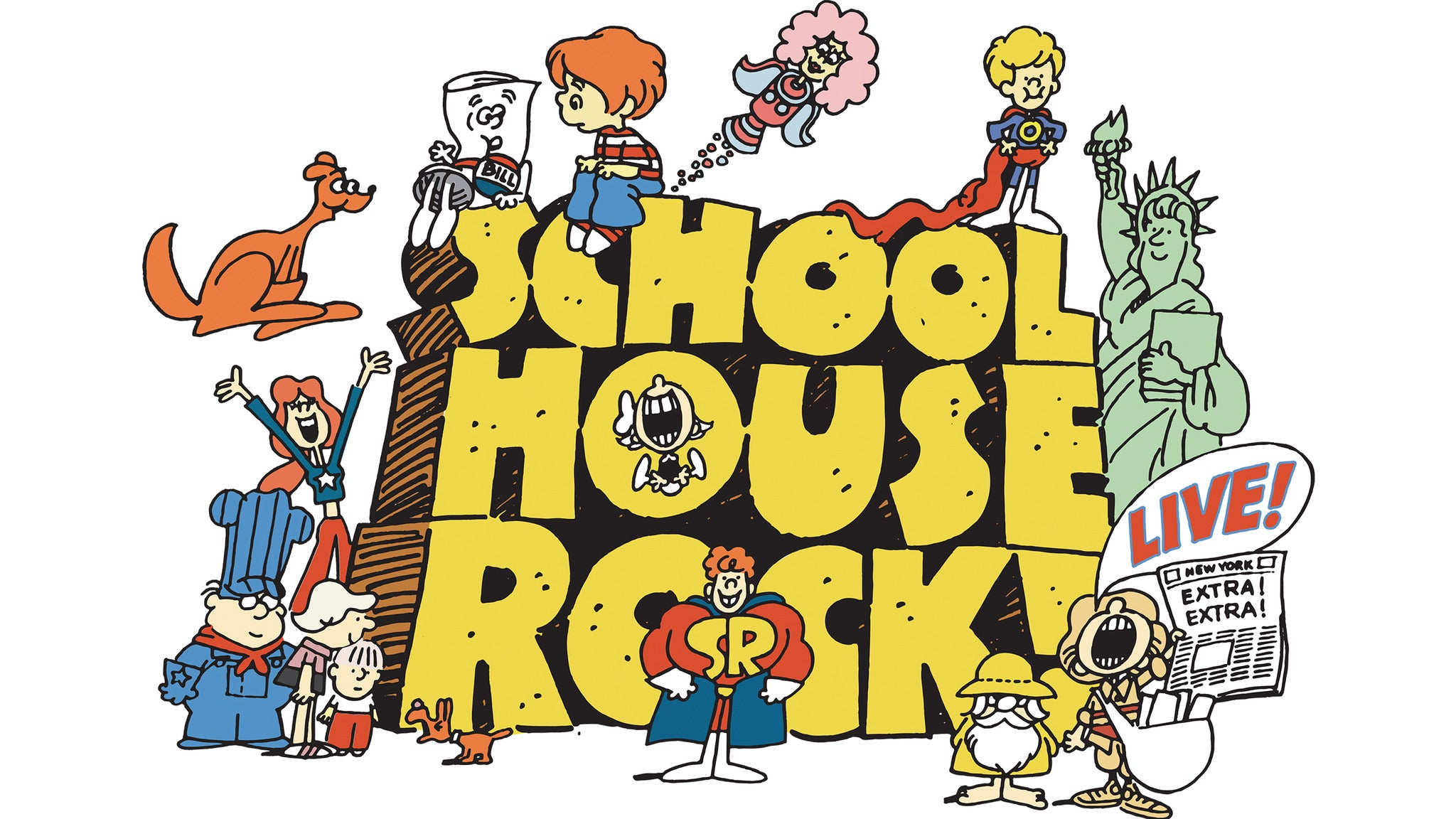 School House Rock Live! at Amaturo Theater at Broward Center - Ft Lauderdale, FL 33312