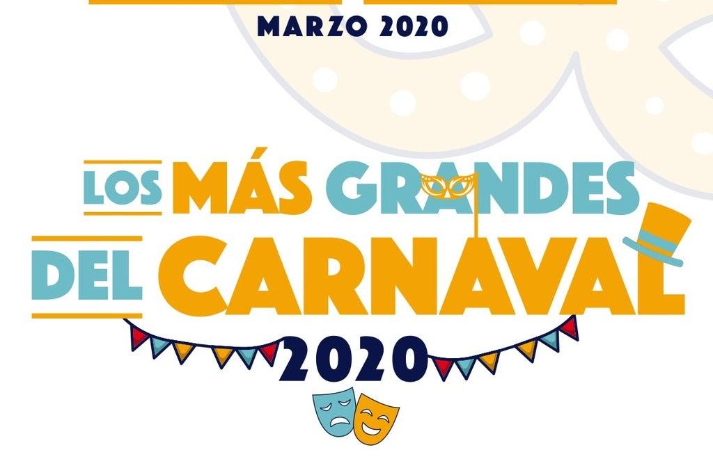 Los más grandes del Carnaval de Cádiz 2020