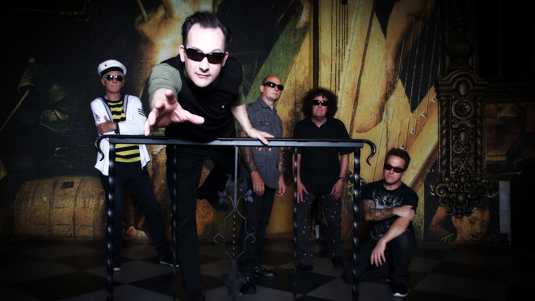 The Damned at Regent Theater-CA