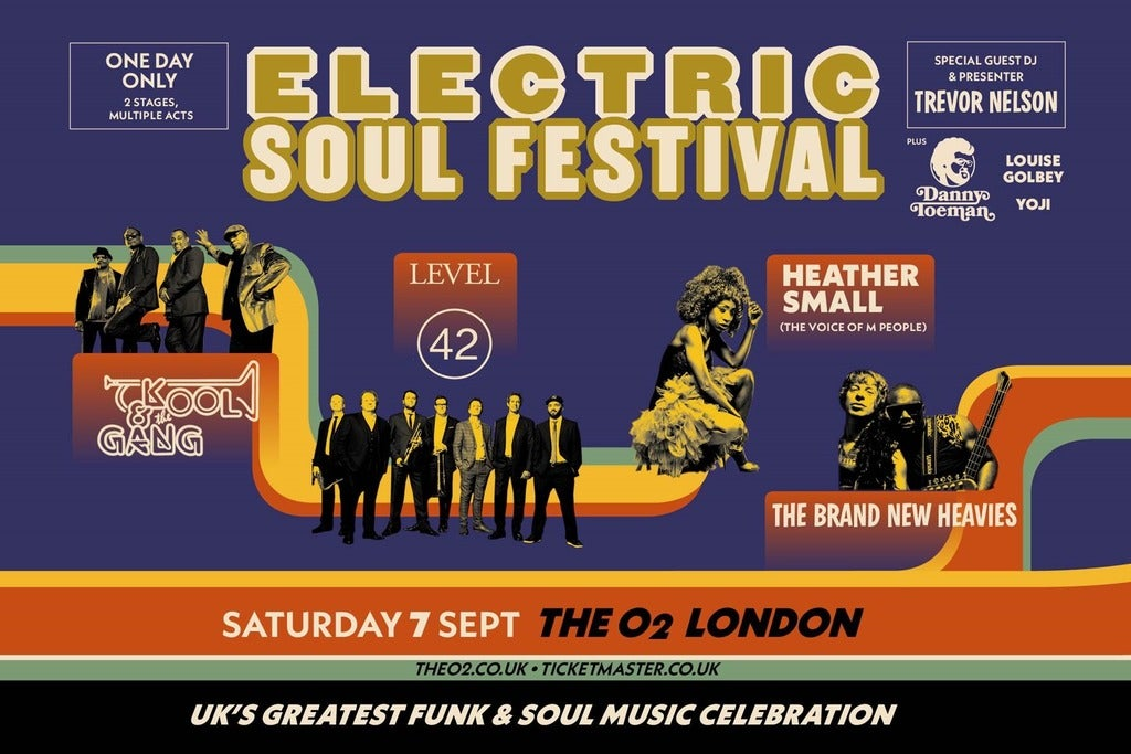 Electric Soul Festival Seating Plans
