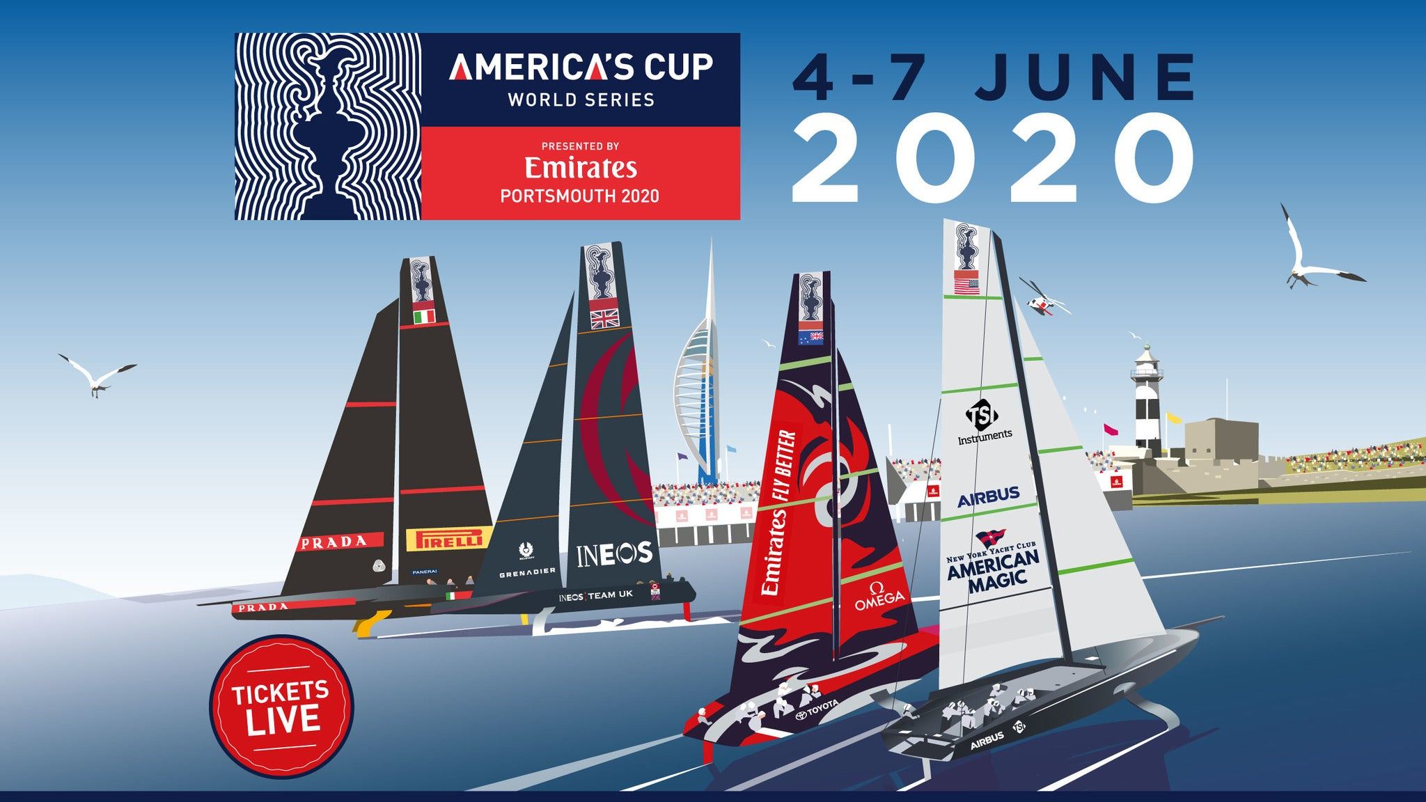 Emirates America's Cup World Series - Weekend Pass - Emirates Lounge