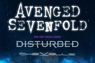 Avenged Sevenfold With Breaking Benjamin And Bullet For My Valentine