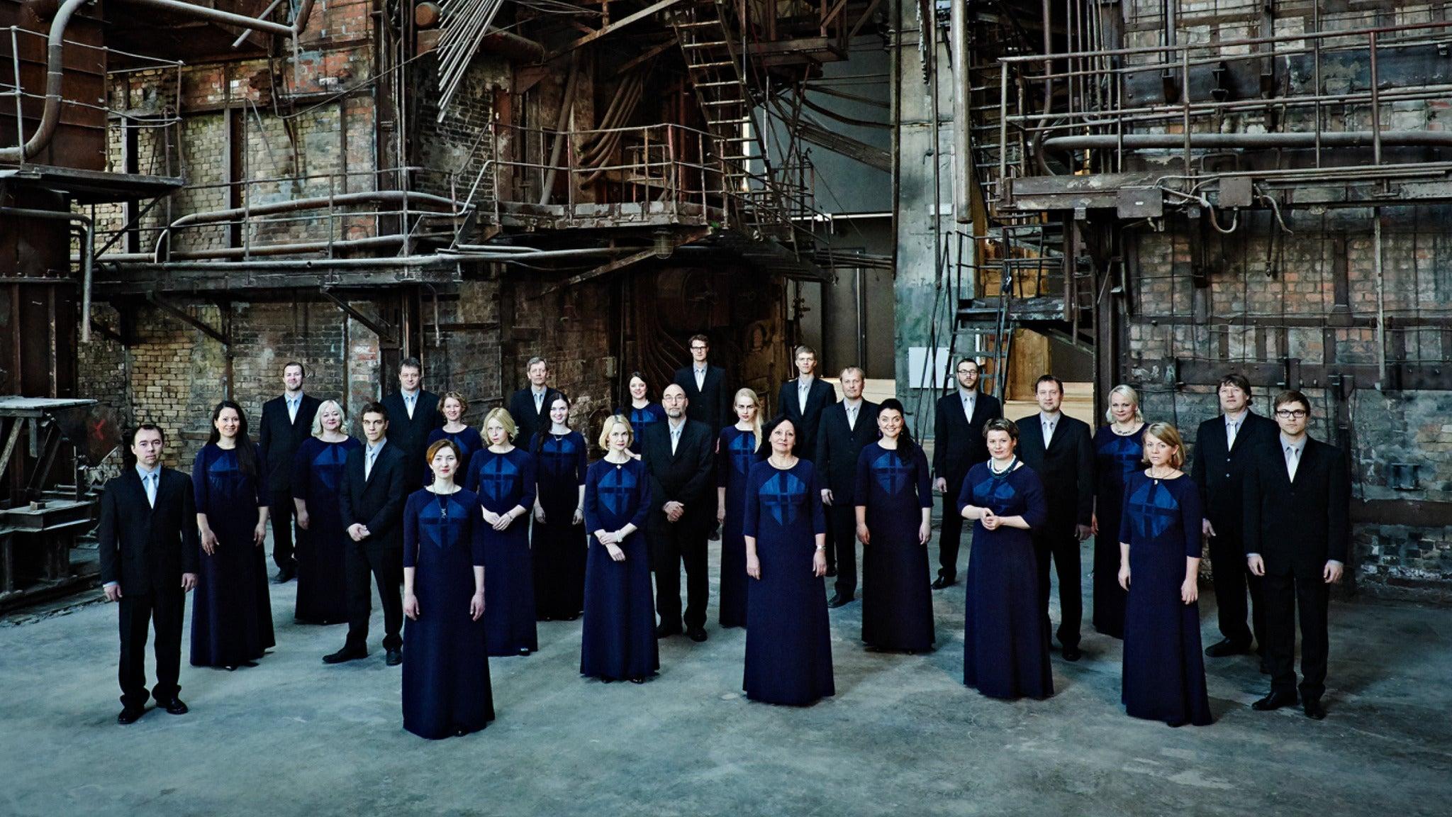 Estonian Philharmonic Chamber Choir at Royce Hall - UCLA - Los Angeles, CA 90095