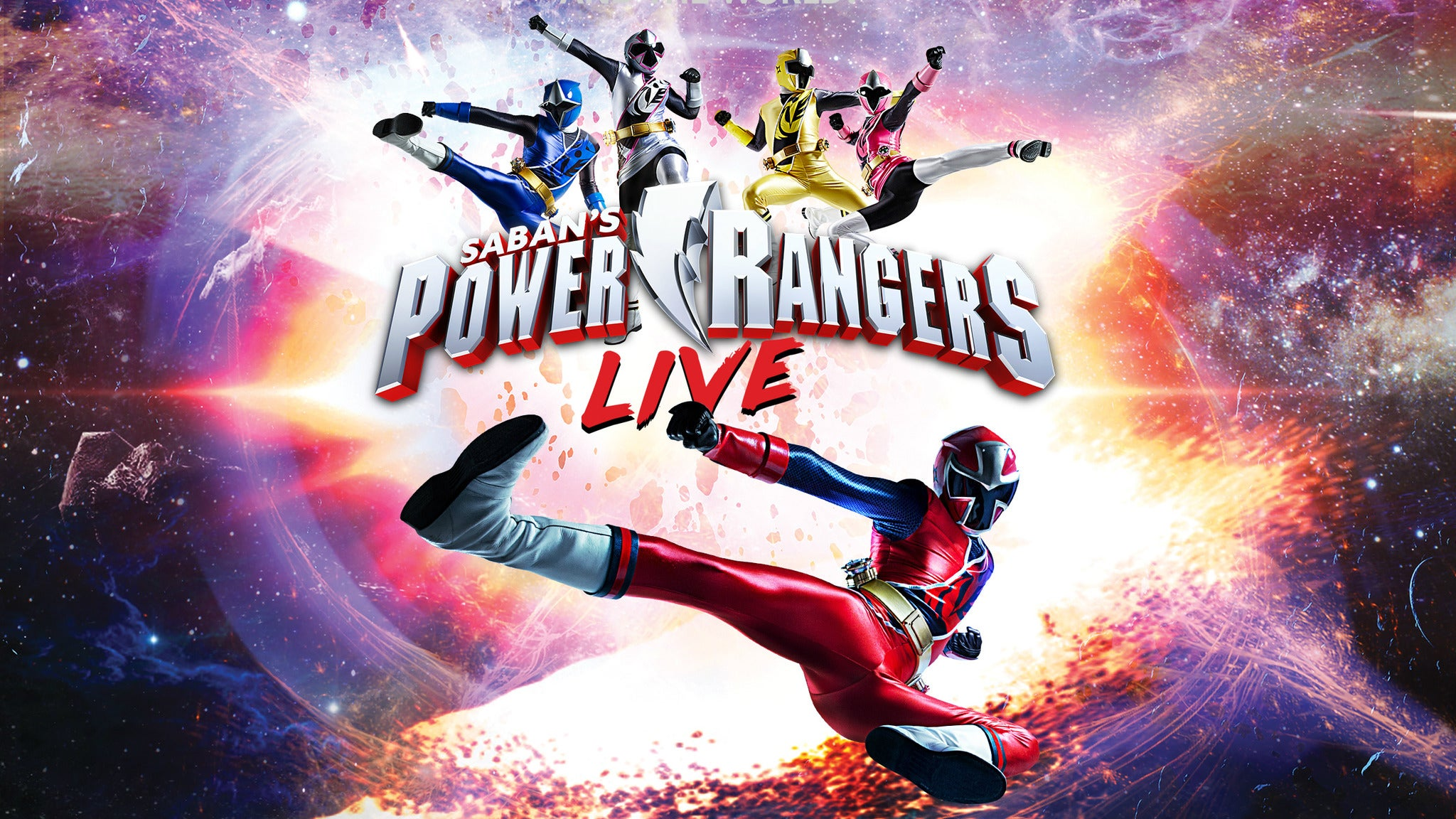 Power Rangers Live! at Count Basie Theatre