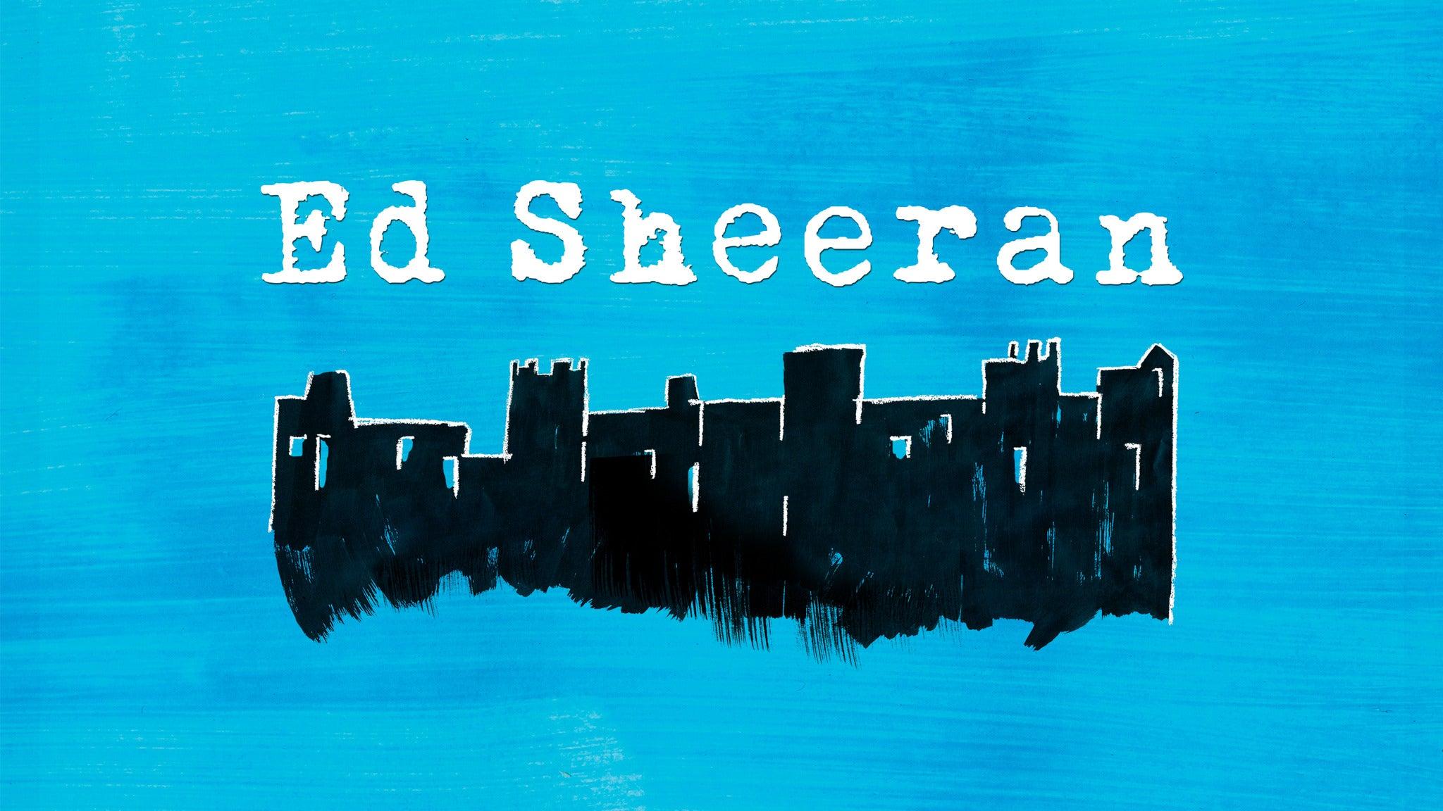 Ed Sheeran at PNC Arena