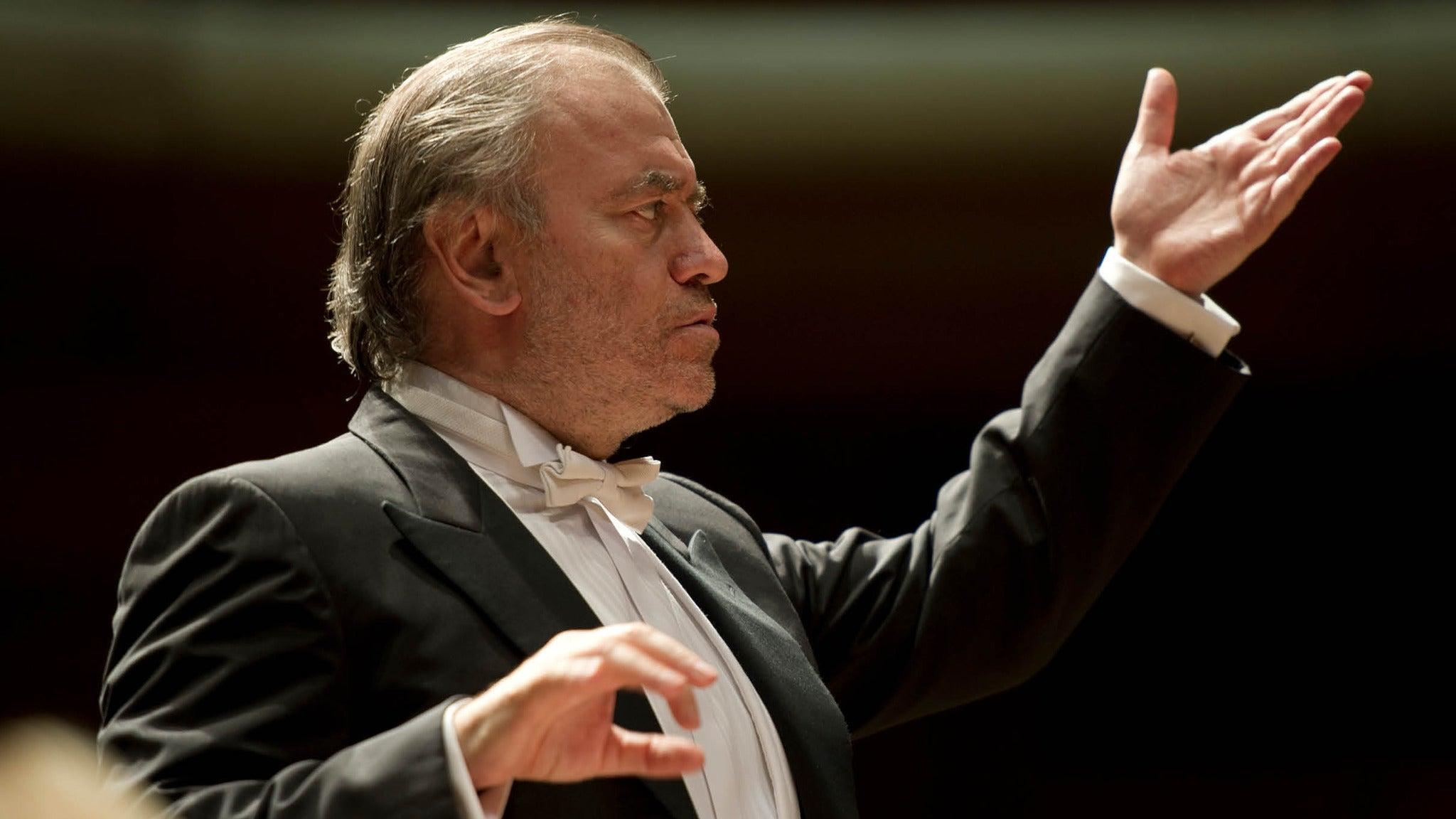 Munich Philharmonic With Valery Gergiev