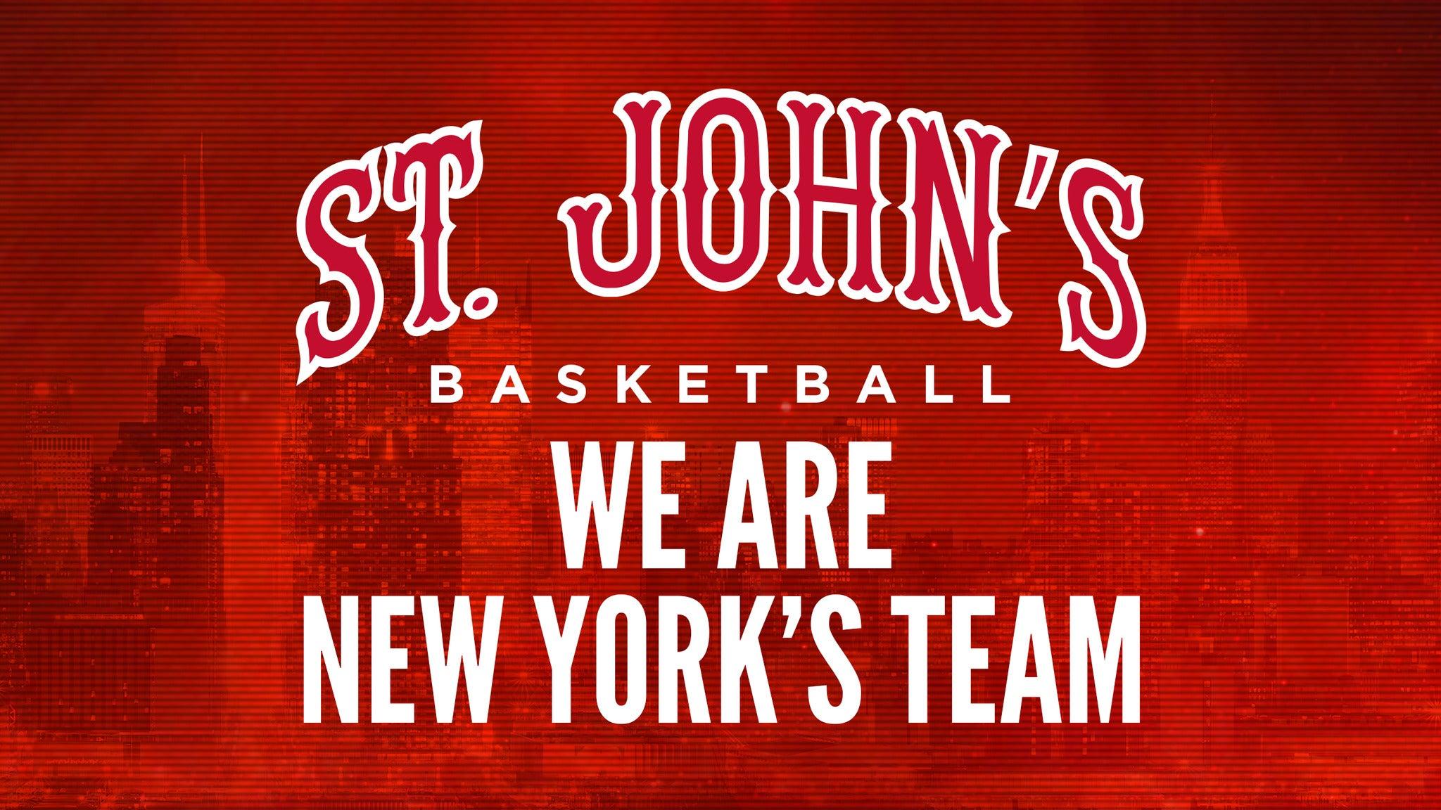 St. John's Red Storm Men's Basketball vs. Seton Hall Pirates Men's Basketball