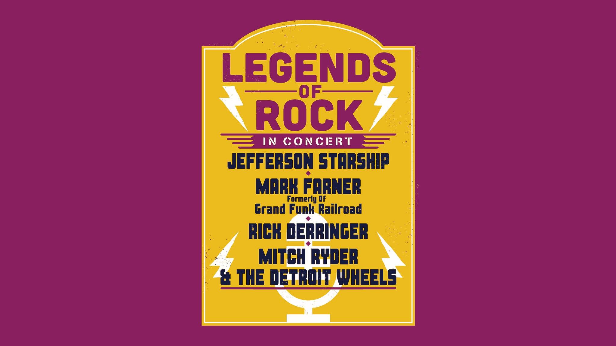 Legends of Rock at Effingham Performance Center