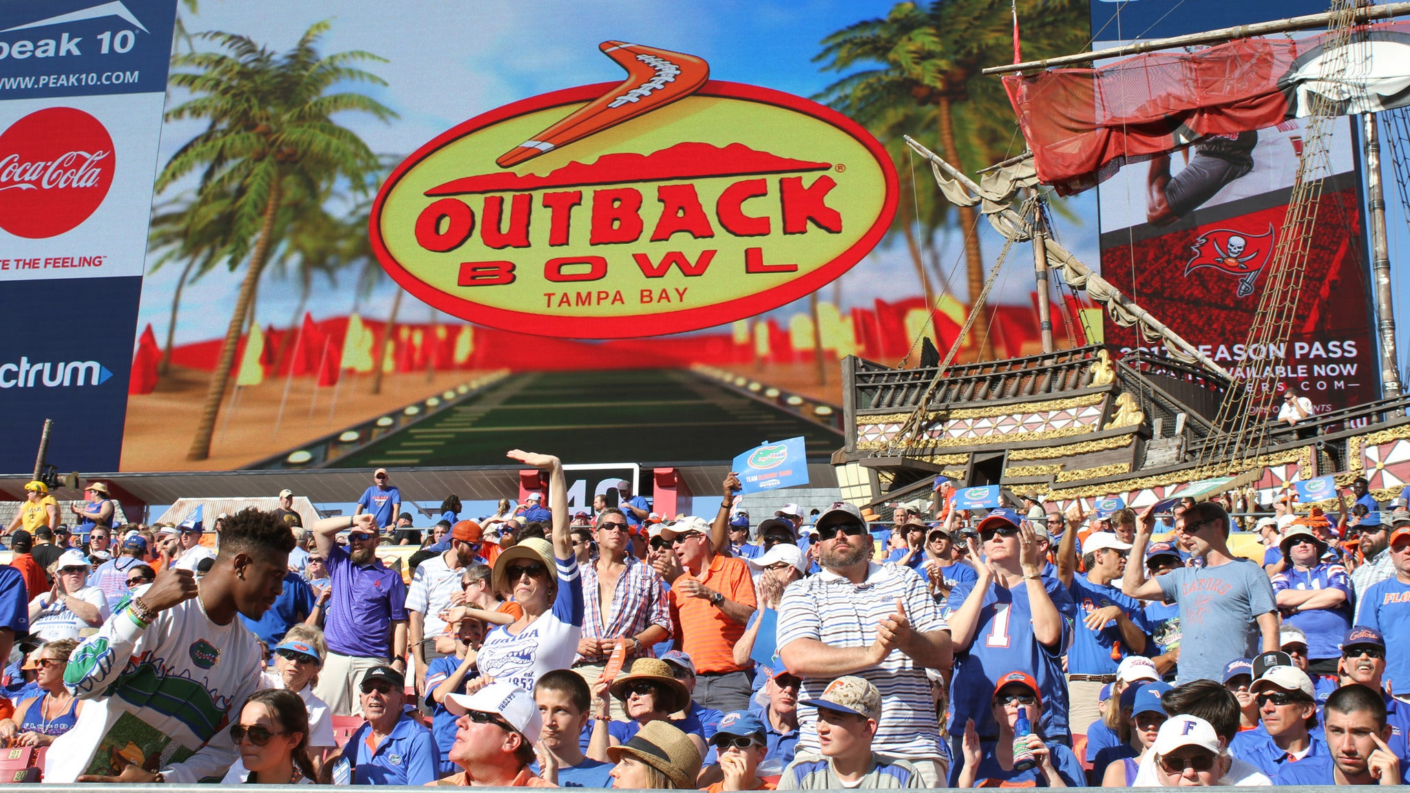 Outback Bowl at Raymond James Stadium
