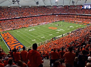 Syracuse Orange Football vs. University of North Carolina Tar Heels Football