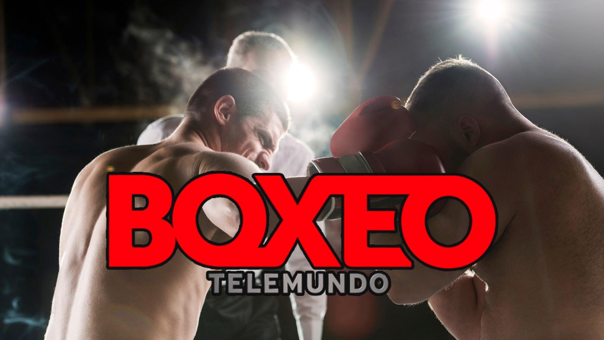Boxeo Telemundo Championship Boxing