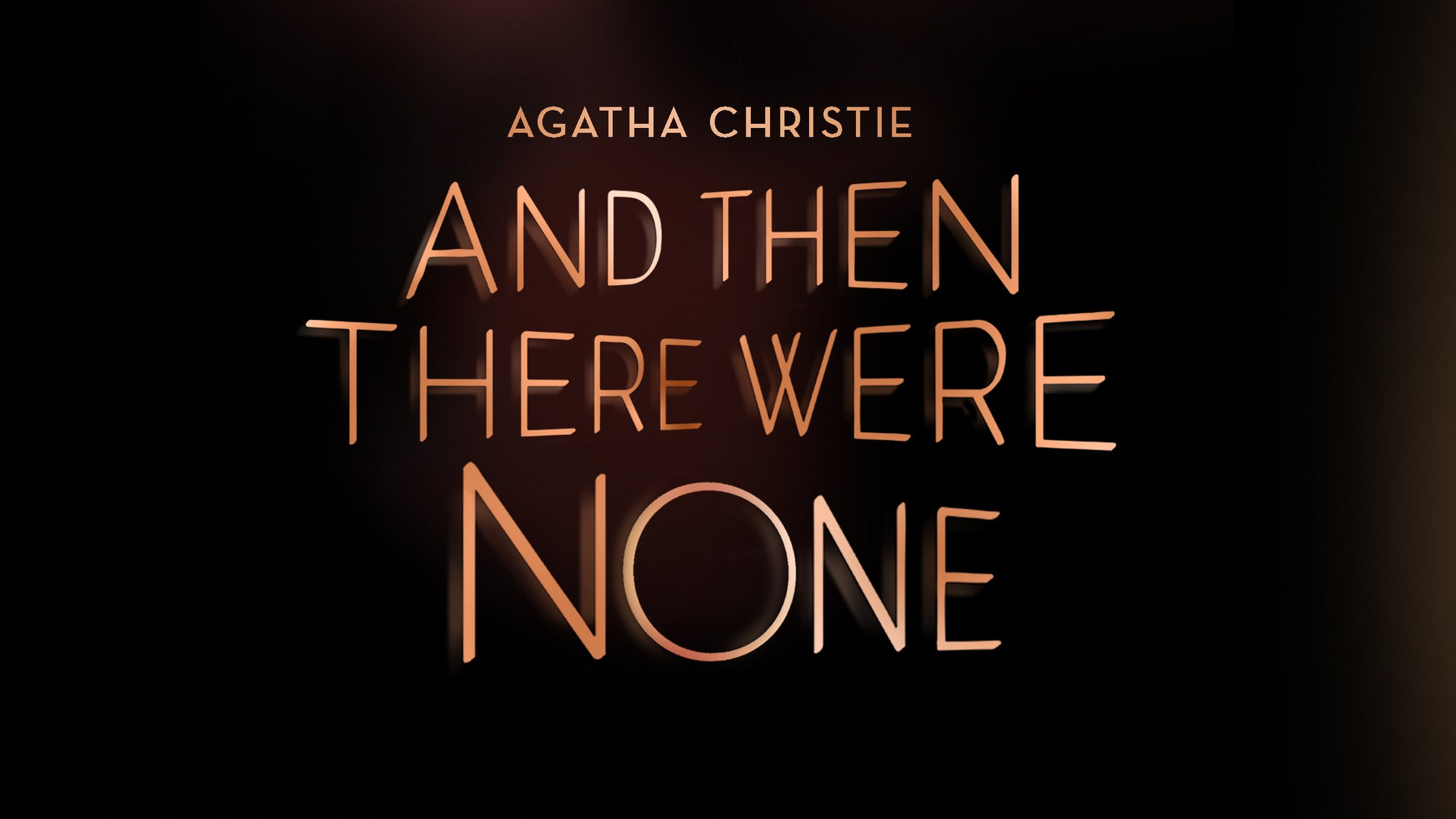 Drury Lane Theatre Presents: And Then There Were None