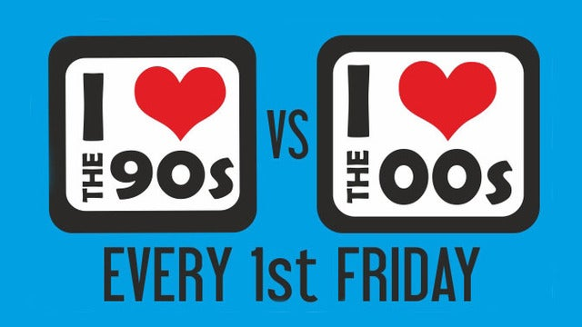I Love the 90s vs I Love the 00s tickets (Copyright © Ticketmaster)