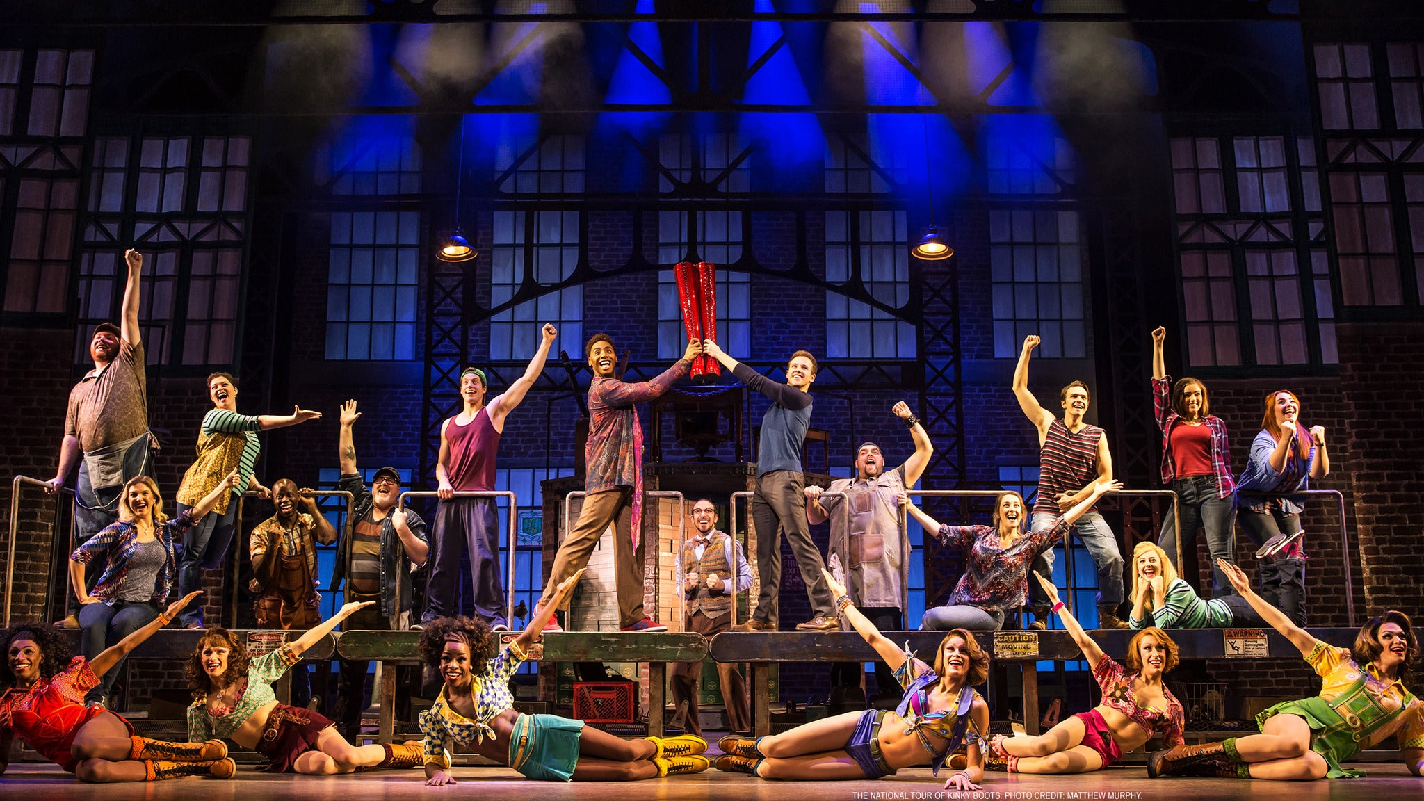 Kinky Boots at Croswell Opera House