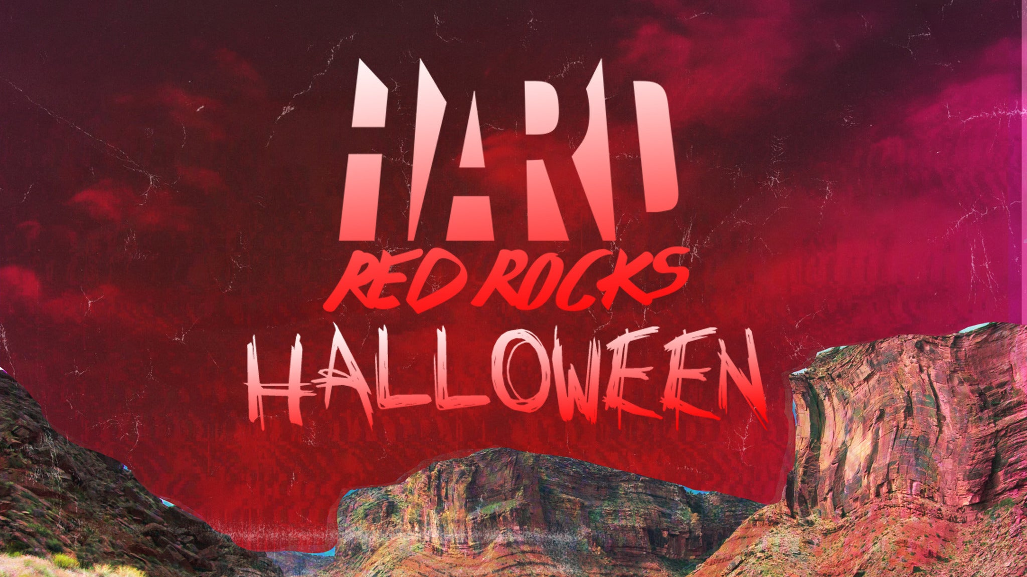 HARD HALLOWEEN RED ROCKS at Red Rocks Amphitheatre