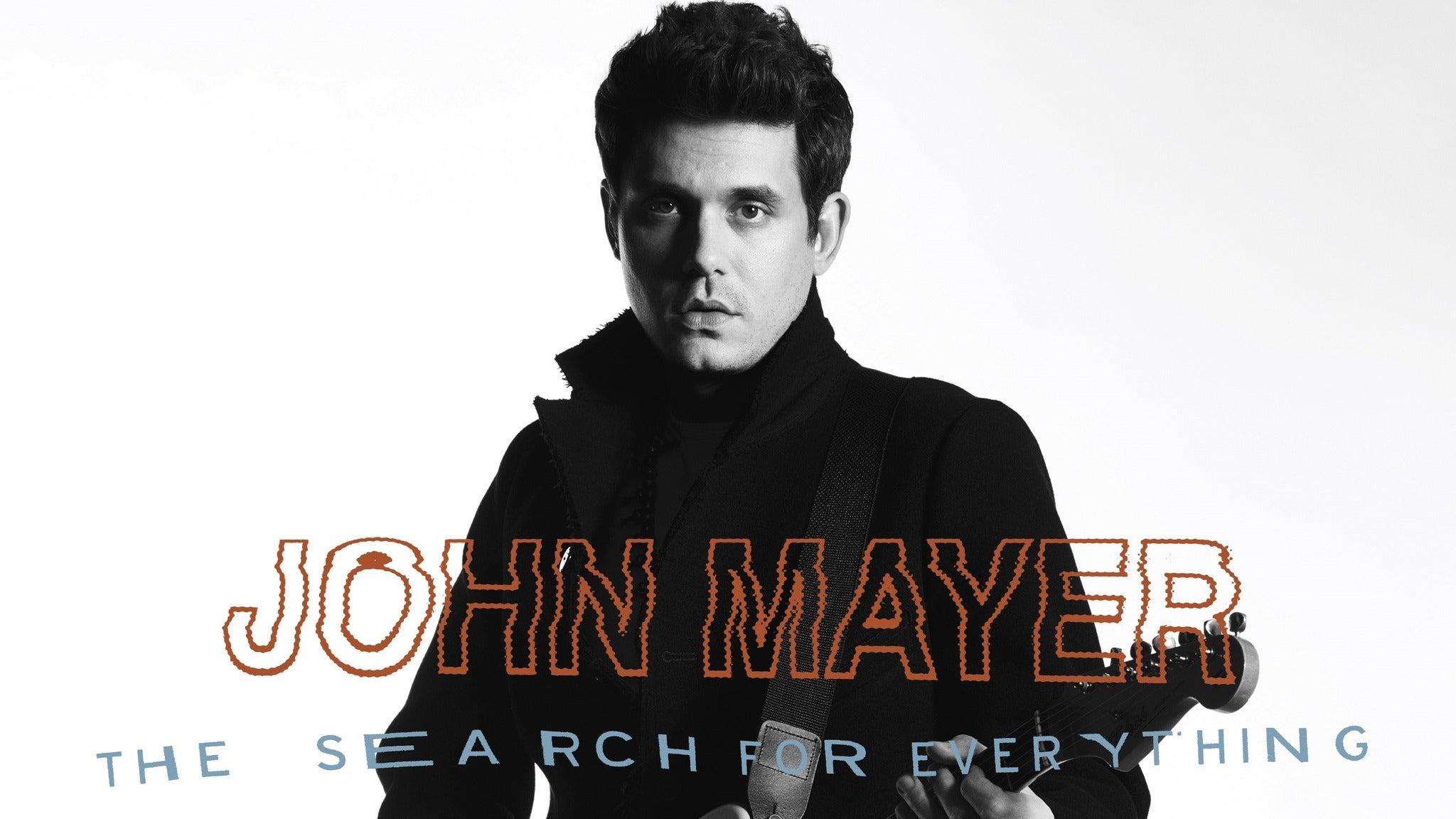 John Mayer at Wells Fargo Center
